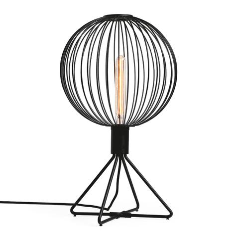 WEVER & DUCRÉ Wiro 1.0 Globe Tischlampe  schwarz