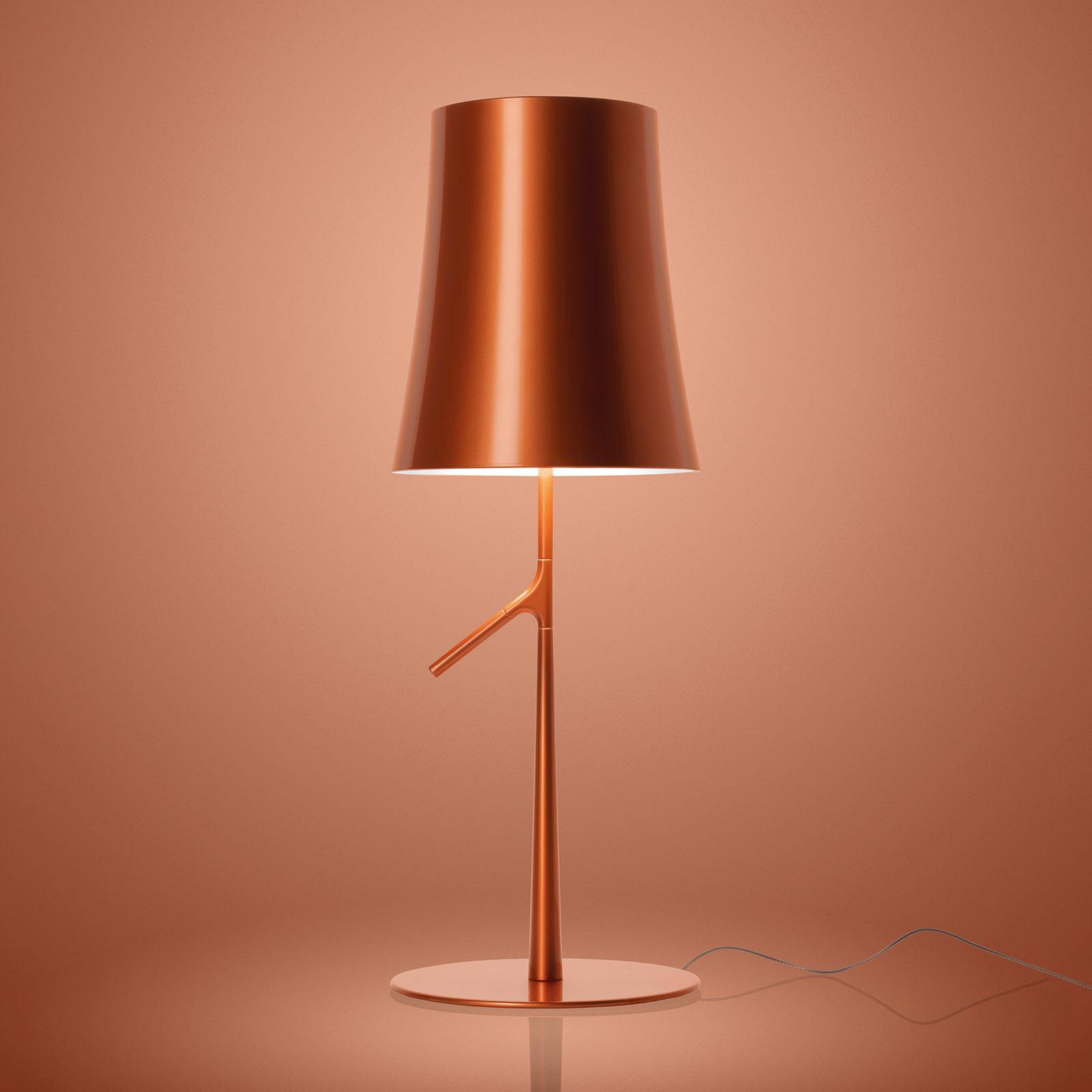 Foscarini Birdie LED piccola lampada, rame