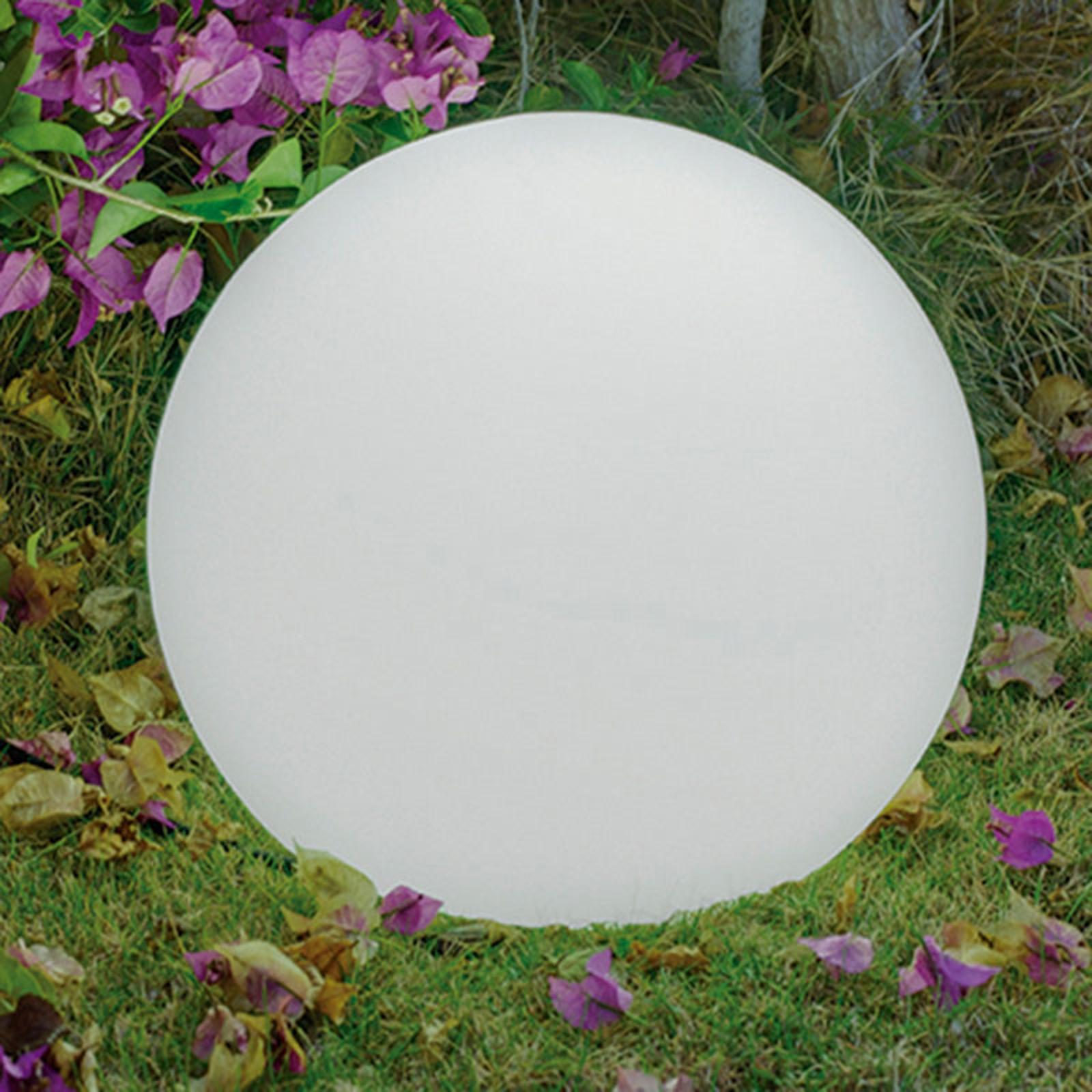 Newgarden Buly golvlampa i kulform, Ø 40 cm