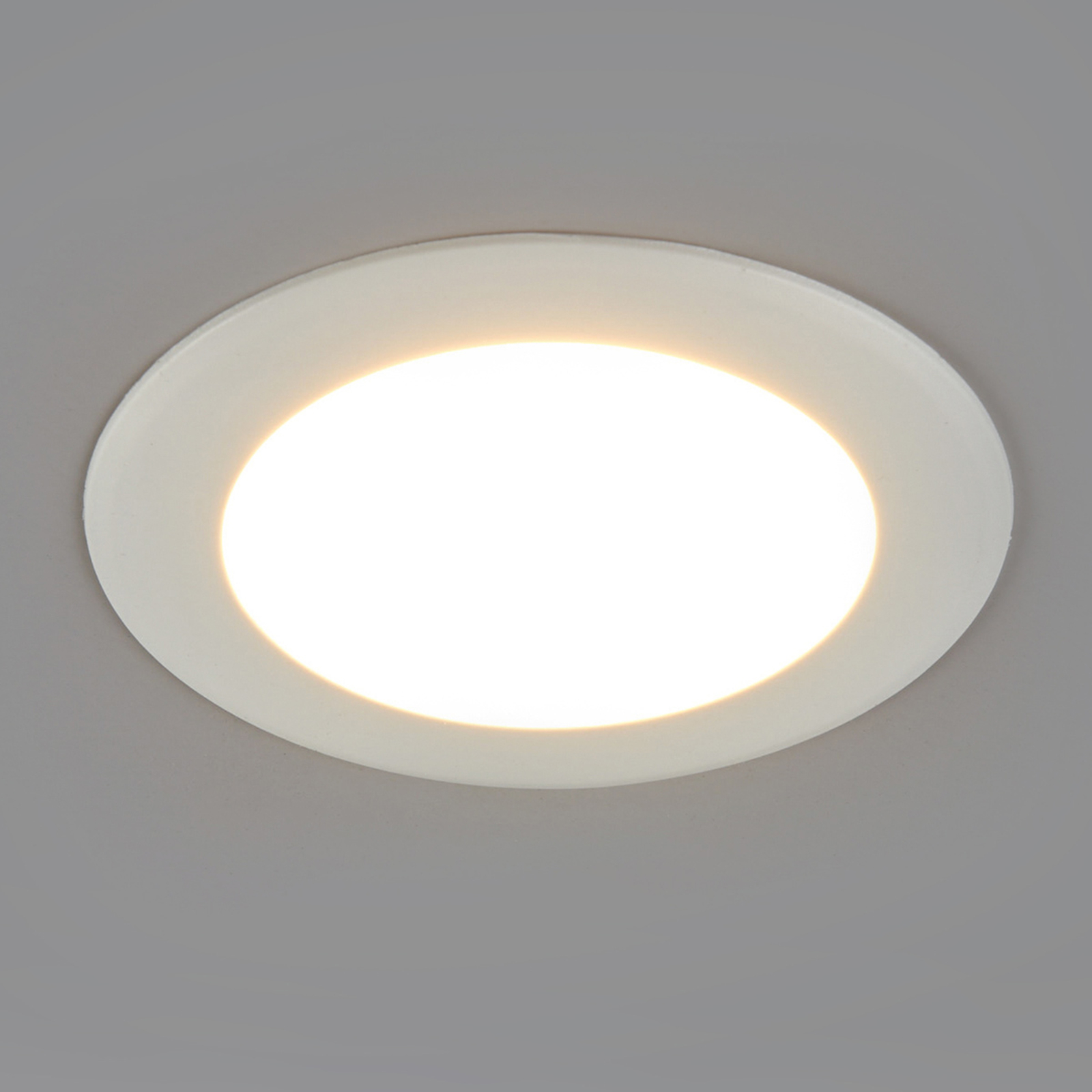 Round LED recessed light Arian, 9.2 cm, 6 W_9978008_1