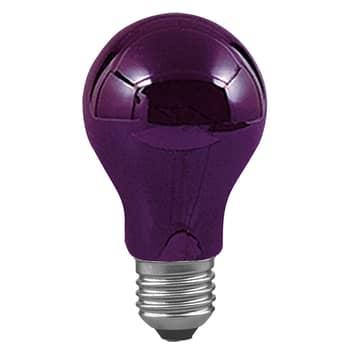 E27 75W sort lys, dæmpbar