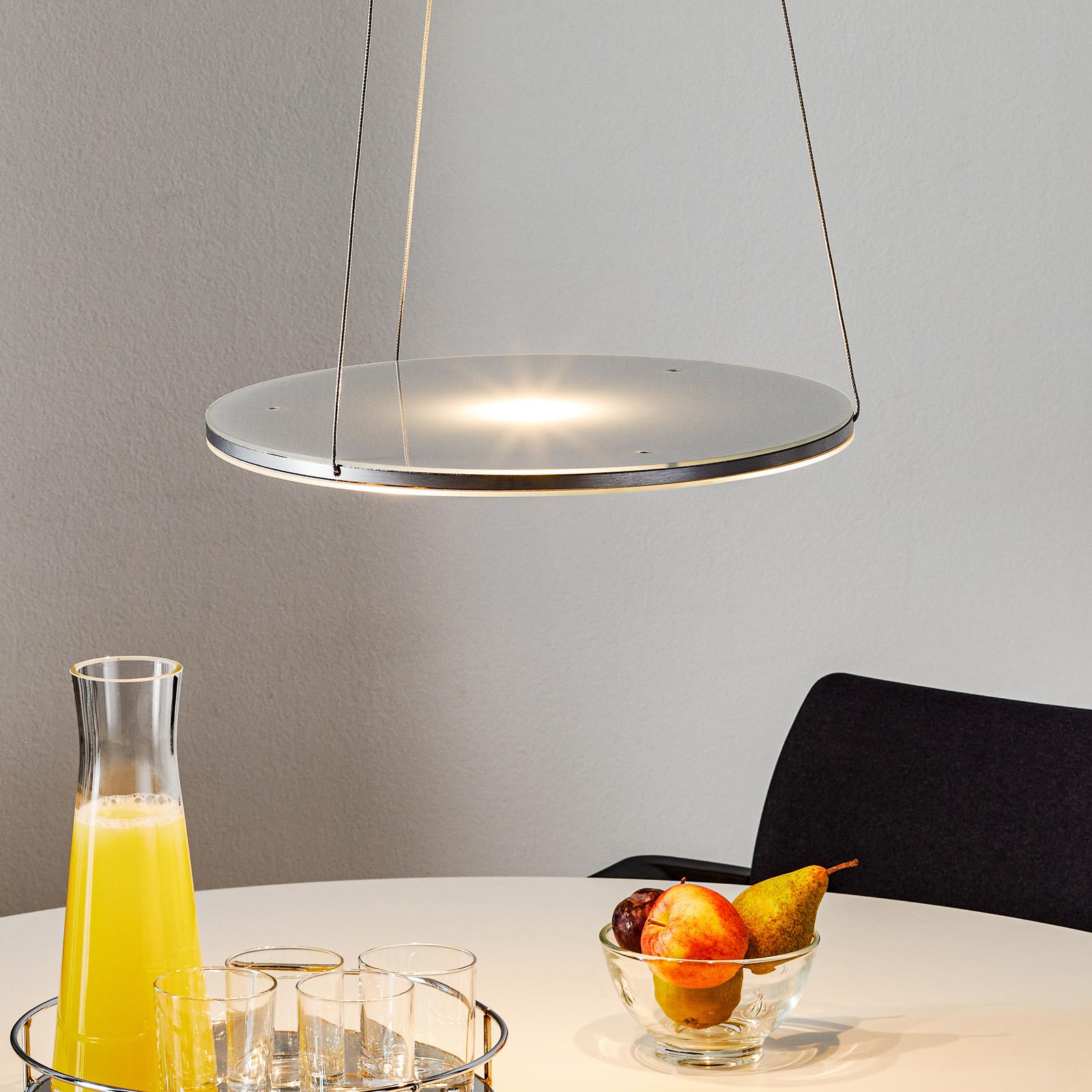 Hoogwaardige led-hanglamp Avanti, dimbaar
