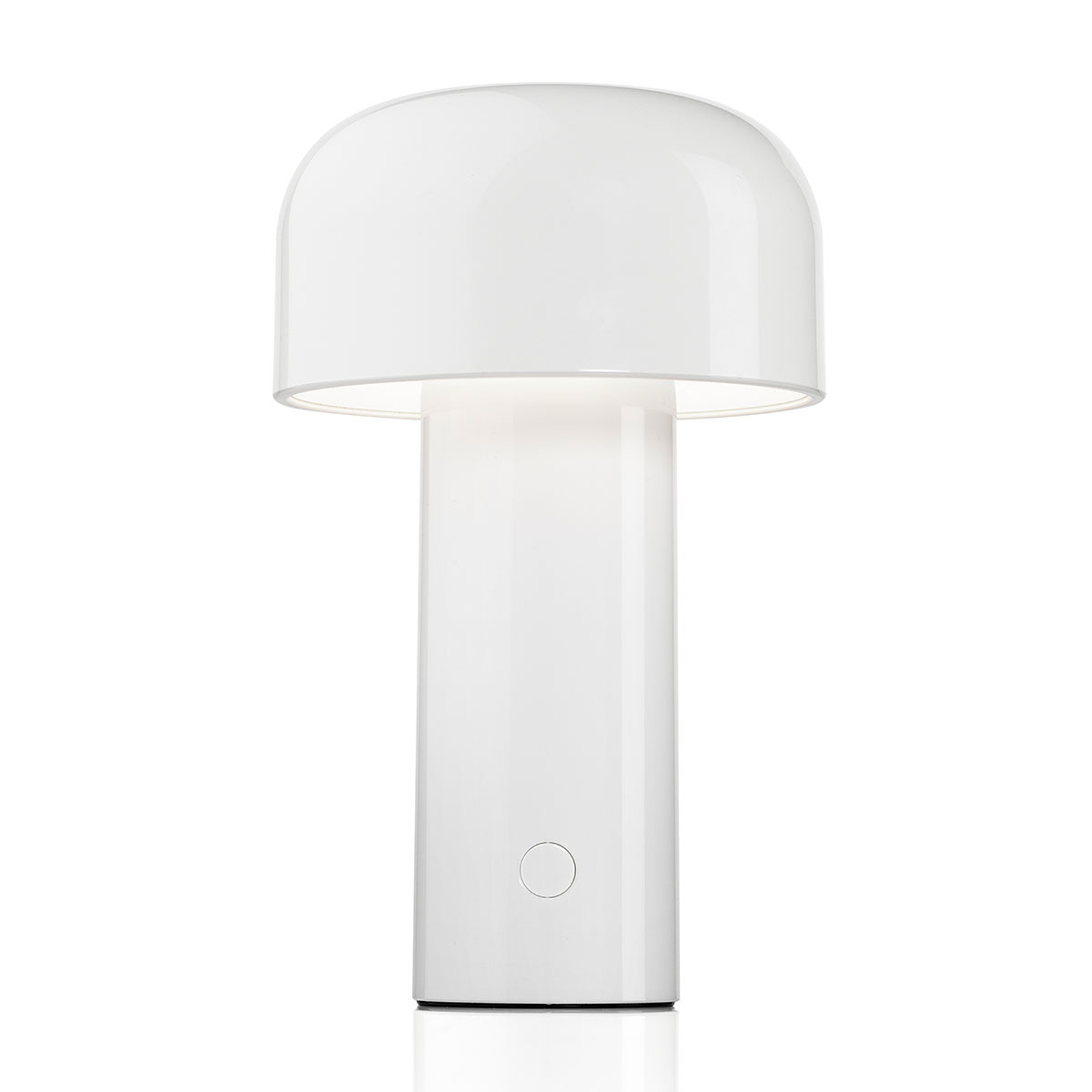 FLOS Bellhop aufladbare LED-Tischleuchte weiß