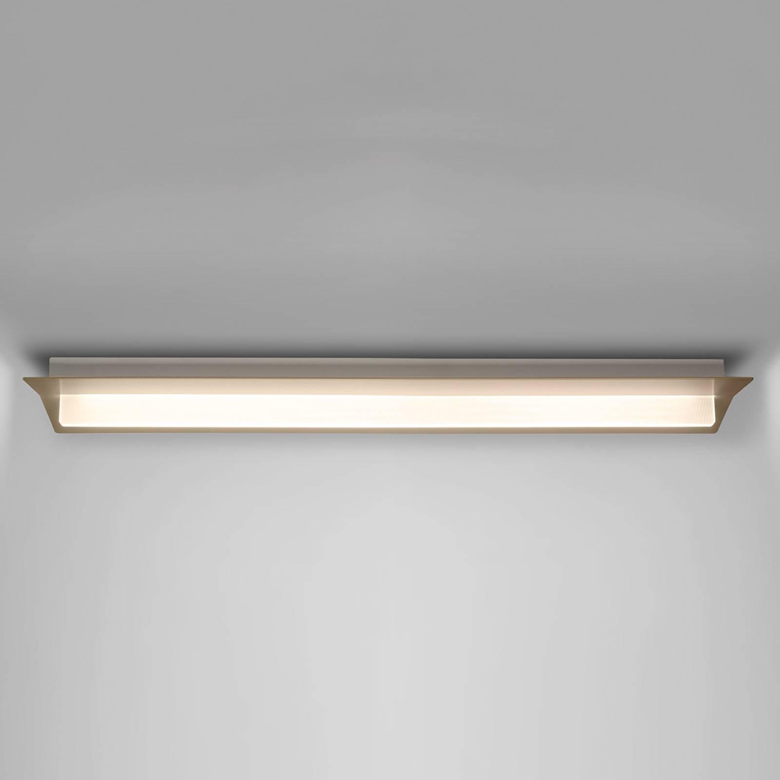 LED plafondlamp Flurry, 100 cm, brons