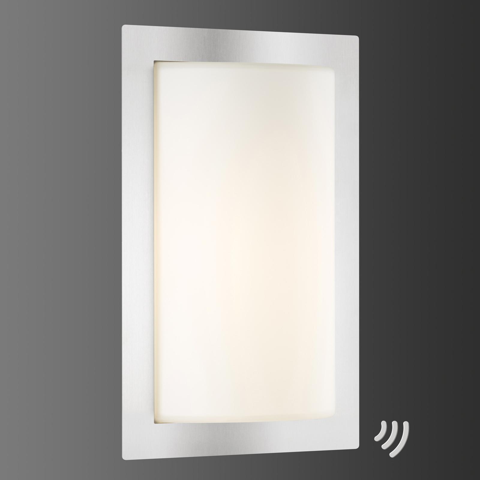 Applique d'extérieur LED Luis, capteur mouvement