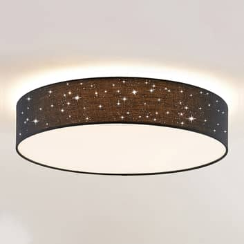 Lindby Ellamina LED-taklampa, 60 cm, svart