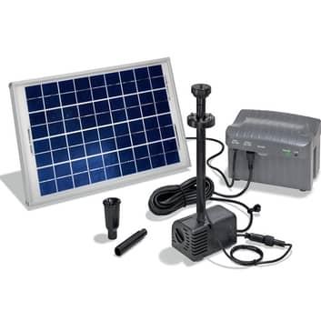 Solcelledrevet Siena pumpesystem med LED'er