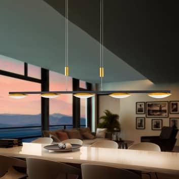 BANKAMP Pure Up LED-hængelampe, fem lyskilder