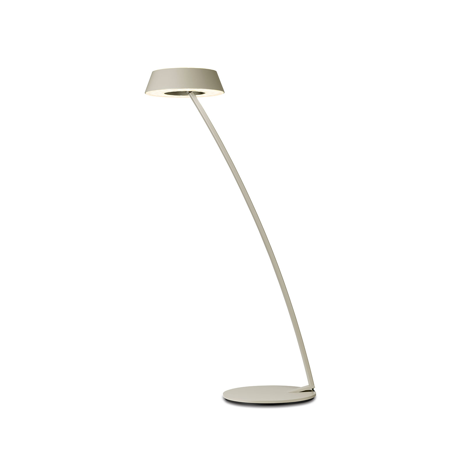 OLIGO Glance LED-bordlampe bøyd, kasjmir