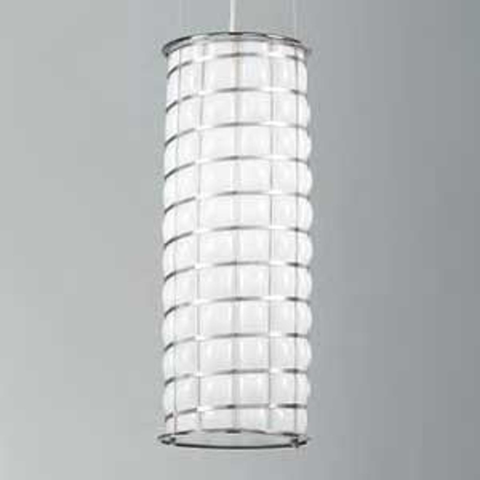 Ręcznie wykonana lampa wisząca RETE 61 cm