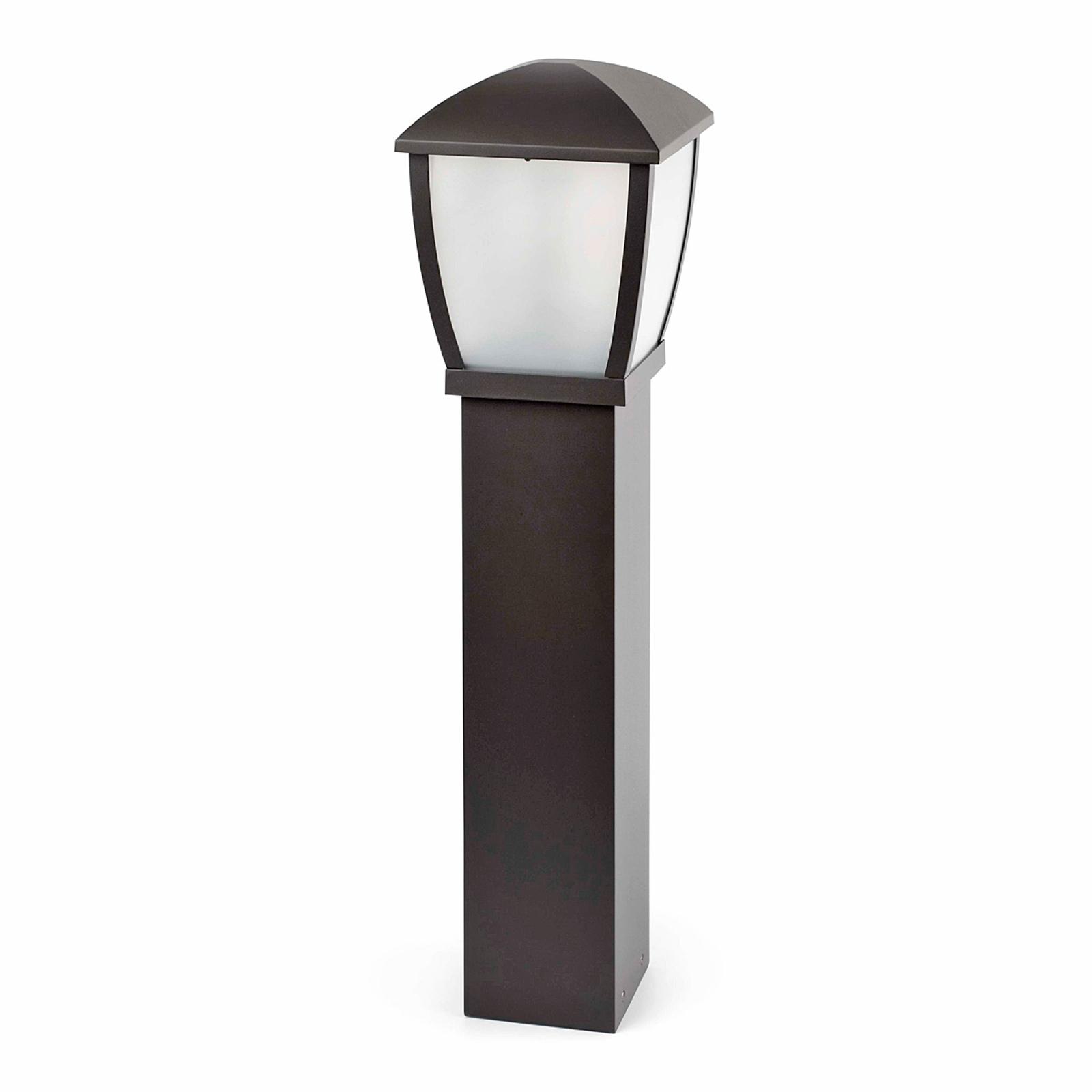 Aluminium stolplampa Wilma
