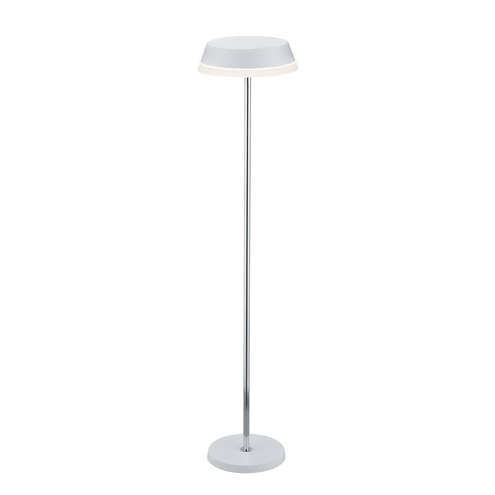 B-Leuchten Joy lampadaire LED avec batterie blanc