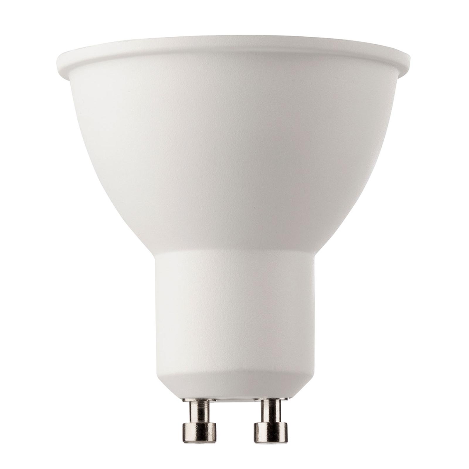 LED-reflektor GU10 8 W 36° universalhvit
