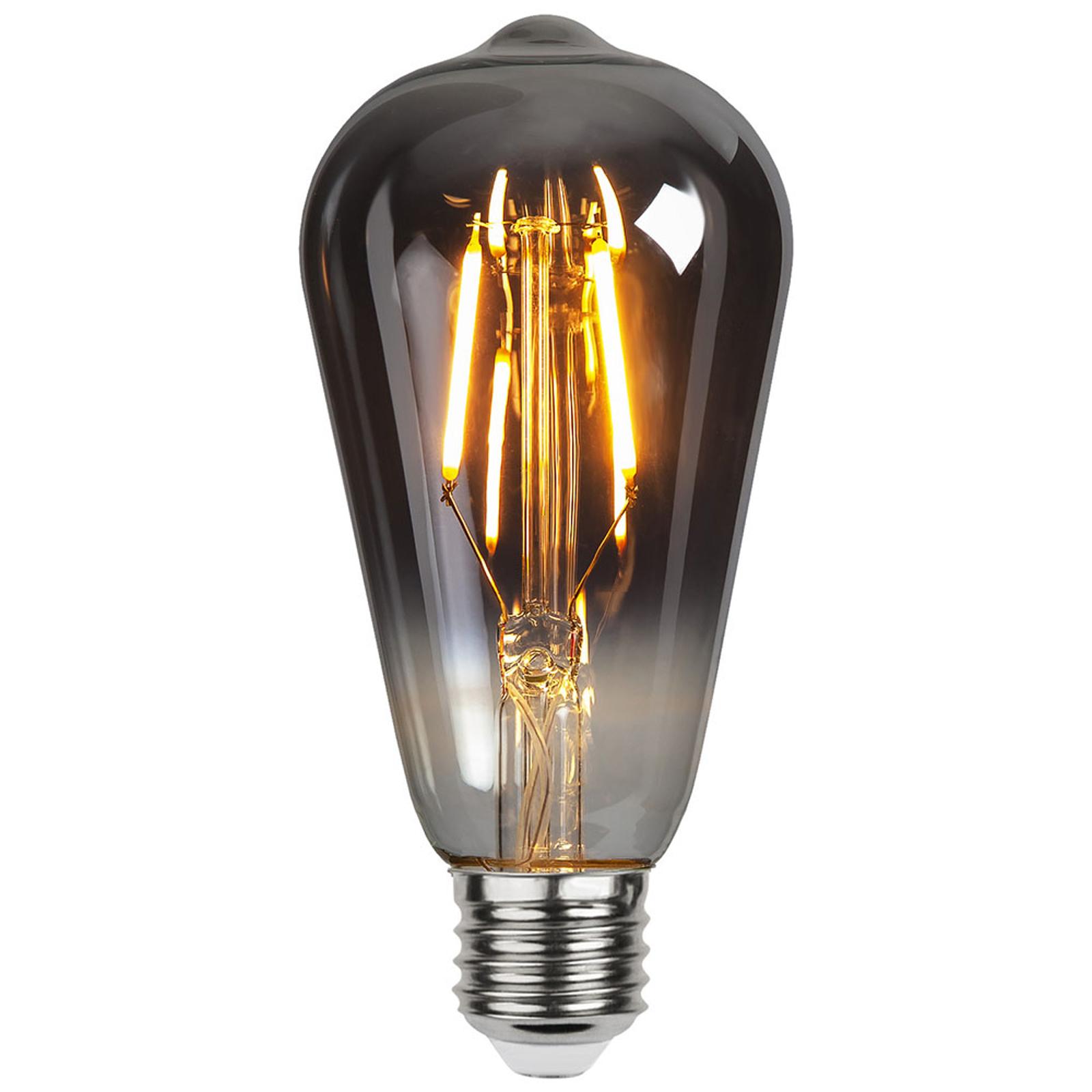 LED-Lampe E27 1,8W ST64 Plain Smoke 2.100K 80lm