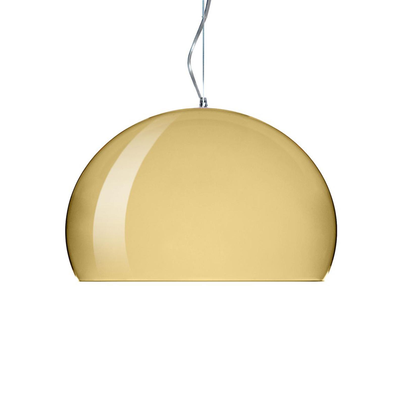 Kartell Small FL/Y LED-Hängeleuchte gold