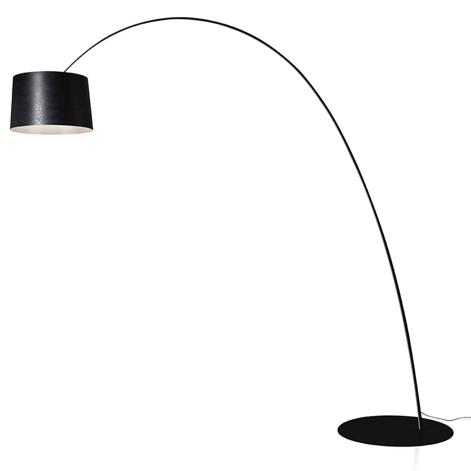 Foscarini Twiggy Elle LED-Stehleuchte schwarz