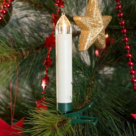 Ekstra sæt LED-juletræslys, kabelløs, 5 lyskilder