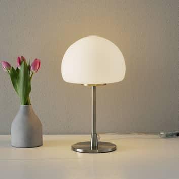 Stolní lampa Gaia Big s dotykovou funkcí, bílá