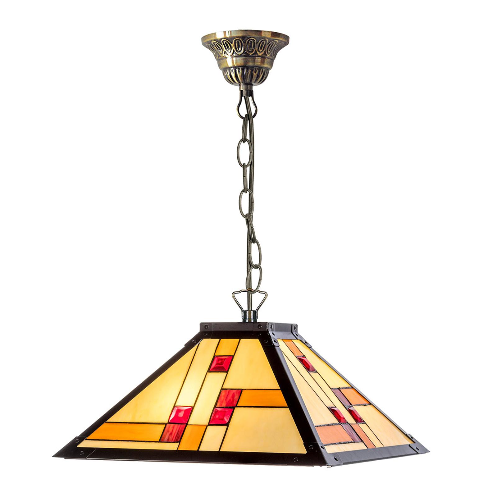KT1836-40+C2 hængelampe i Tiffany-stil