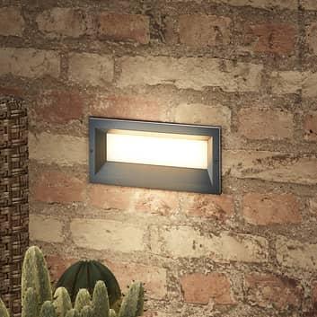 Lucande Lachlain applique encastrée LED extérieur