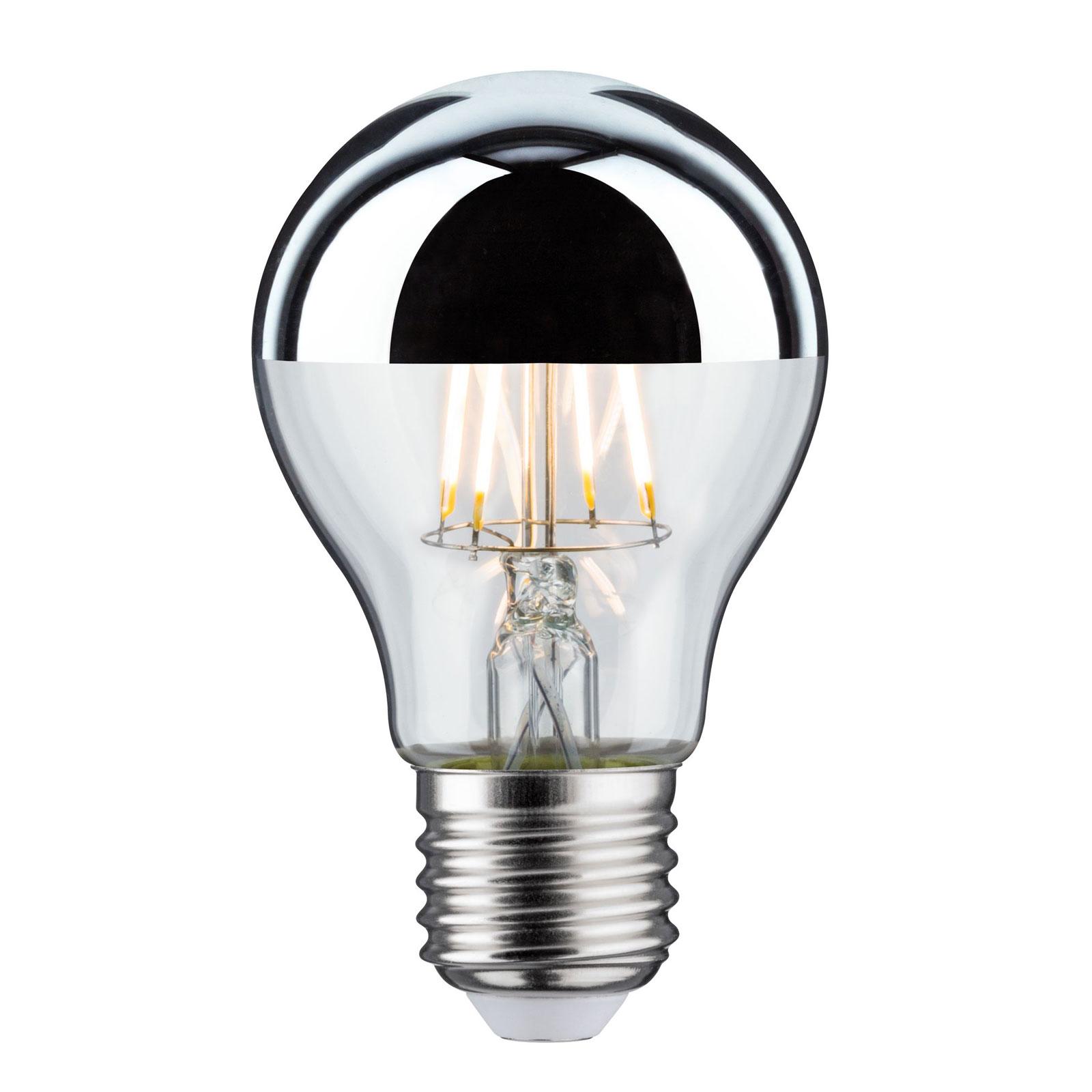 LED-Lampe E27 Tropfen 827 Kopfspiegel 6,5W