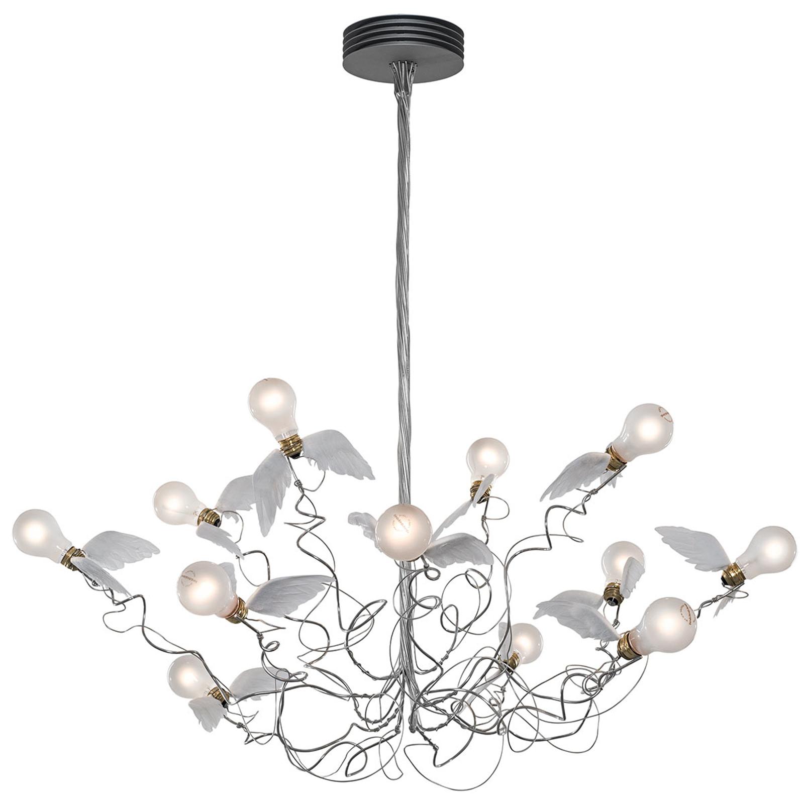 Ingo Maurer Birdie - LED-Hängeleuchte, Kabel klar