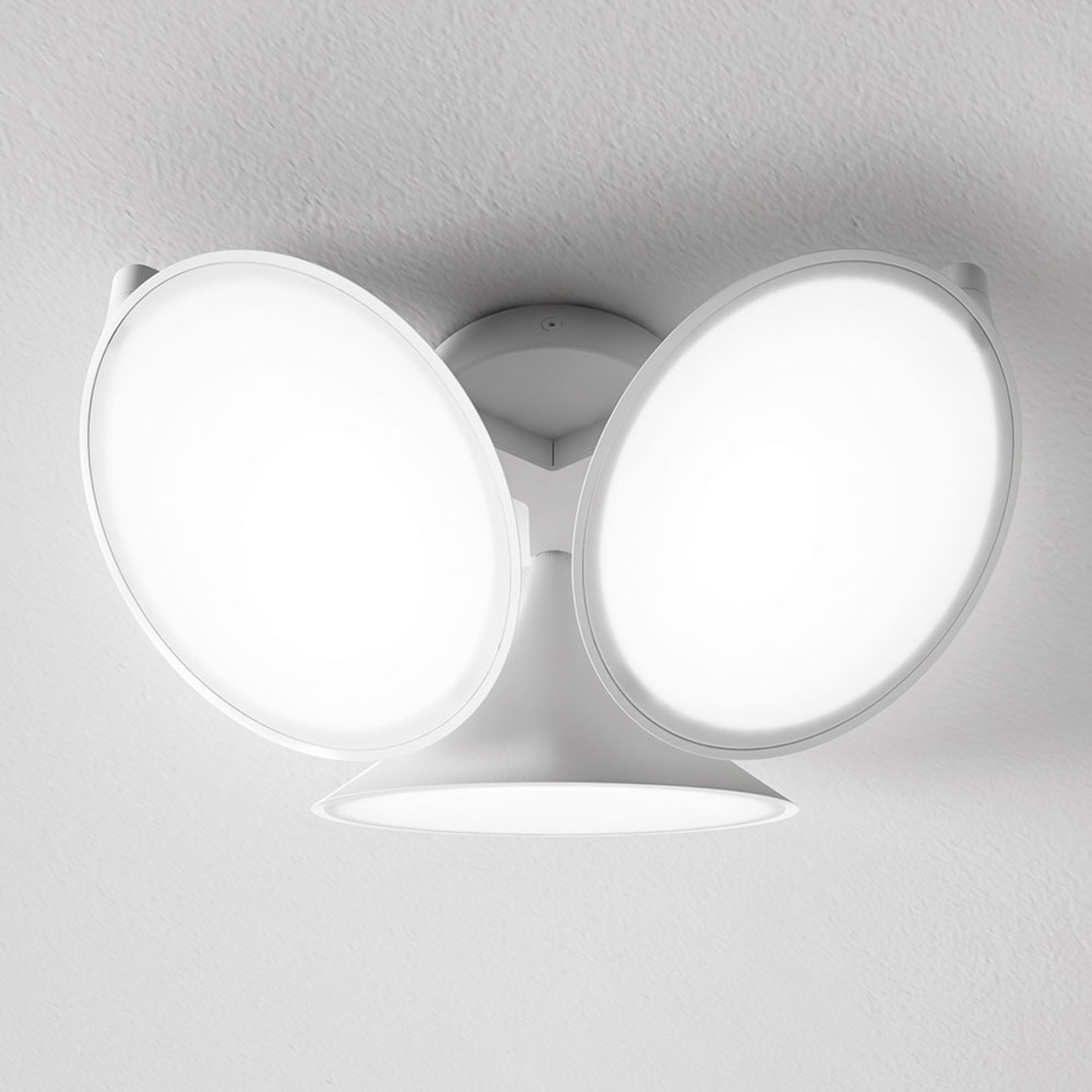 Axolight Orchid LED-Deckenleuchte, weiß
