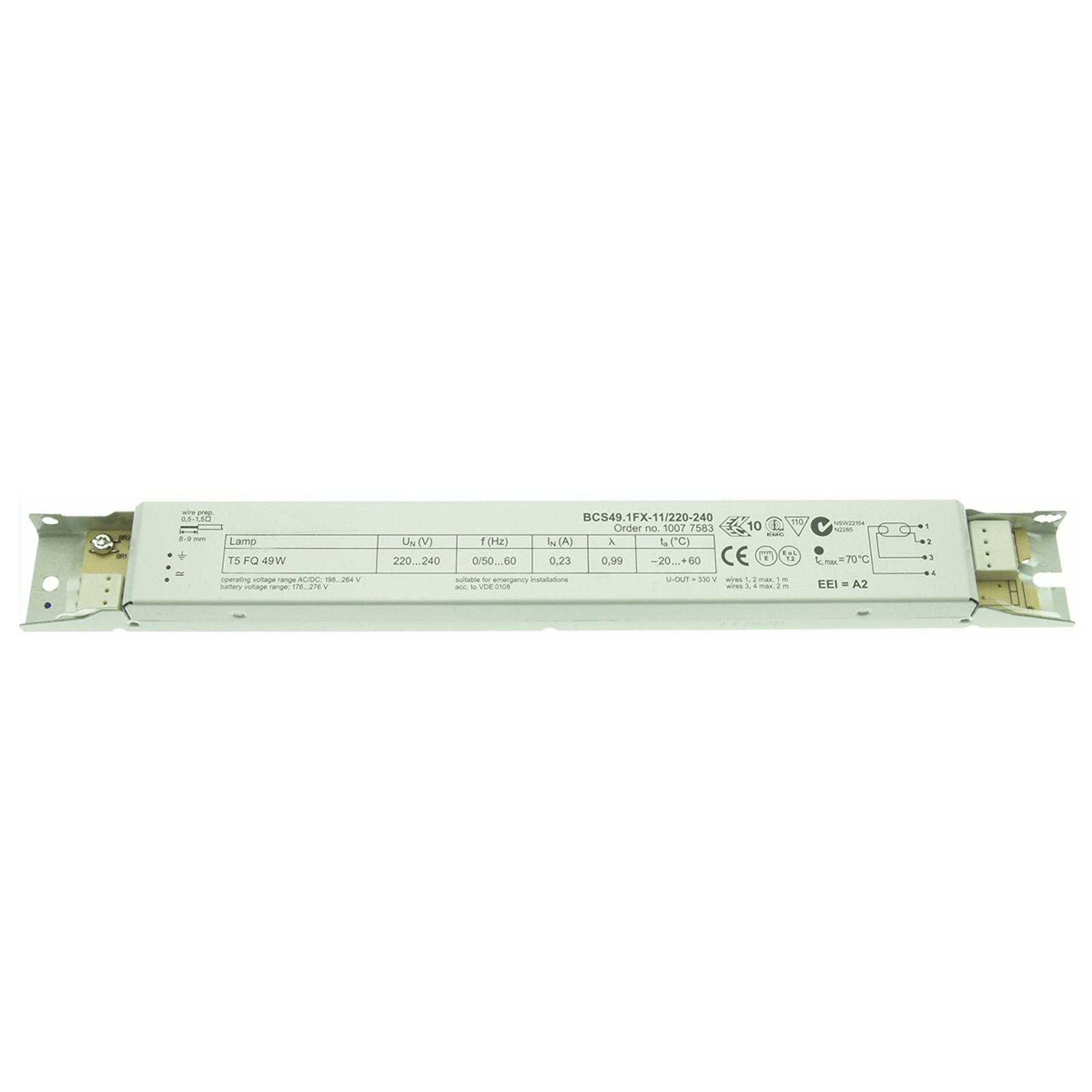 EVG BCS49.1FX-11/220-240 1 x 49 W T5