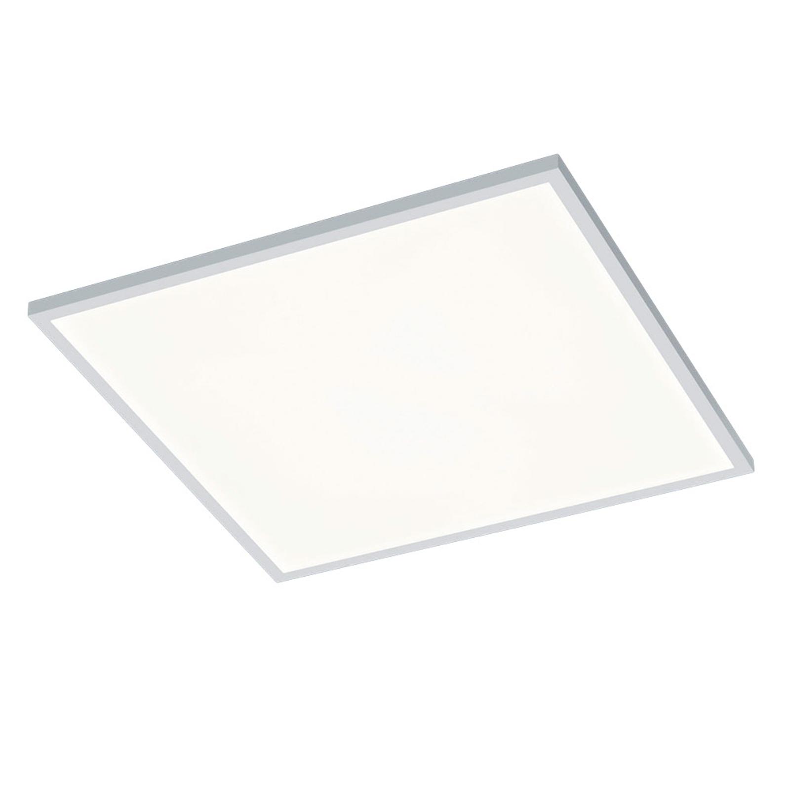 Helestra Rack LED-Deckenlampe dimmbar eckig weiß