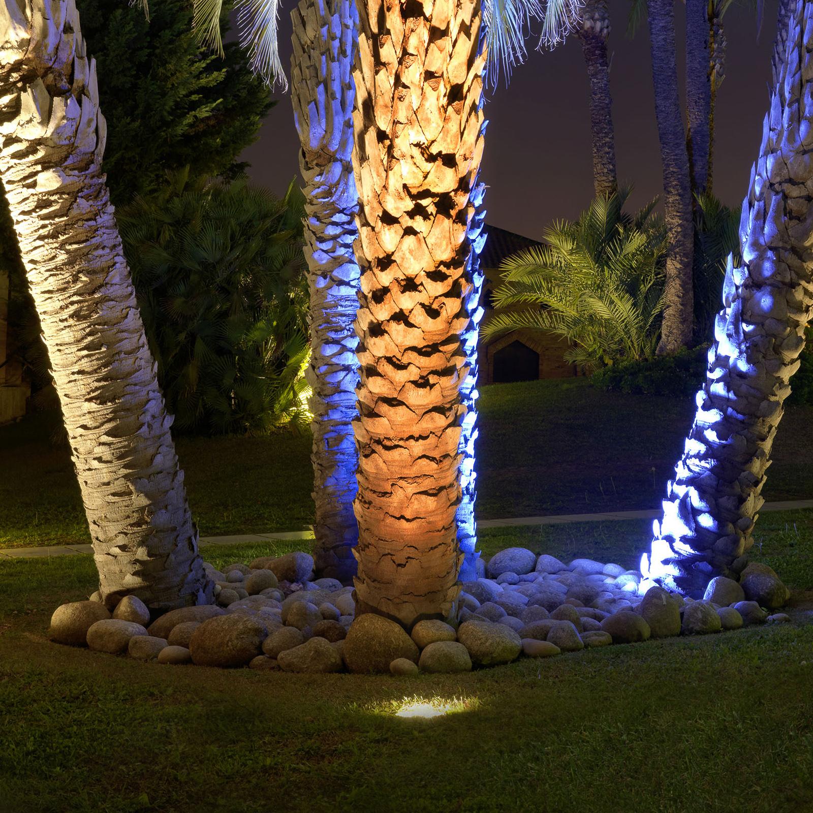 9 W starke LED-Bodeneinbauleuchte Gea