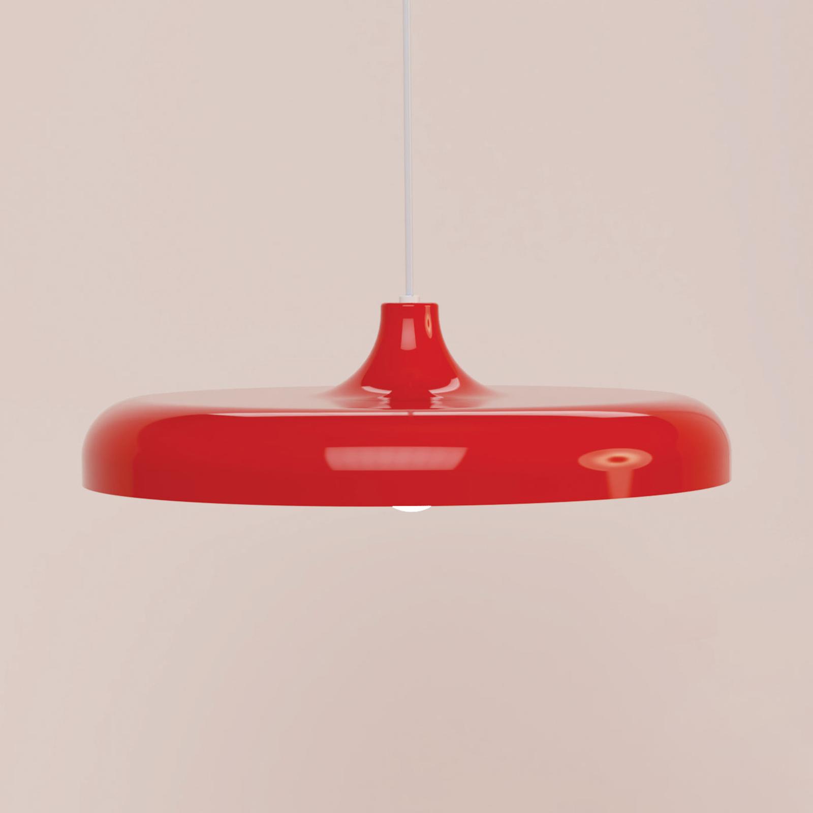 Innermost Portobello -lampa wisząca Ø49cm czerwona