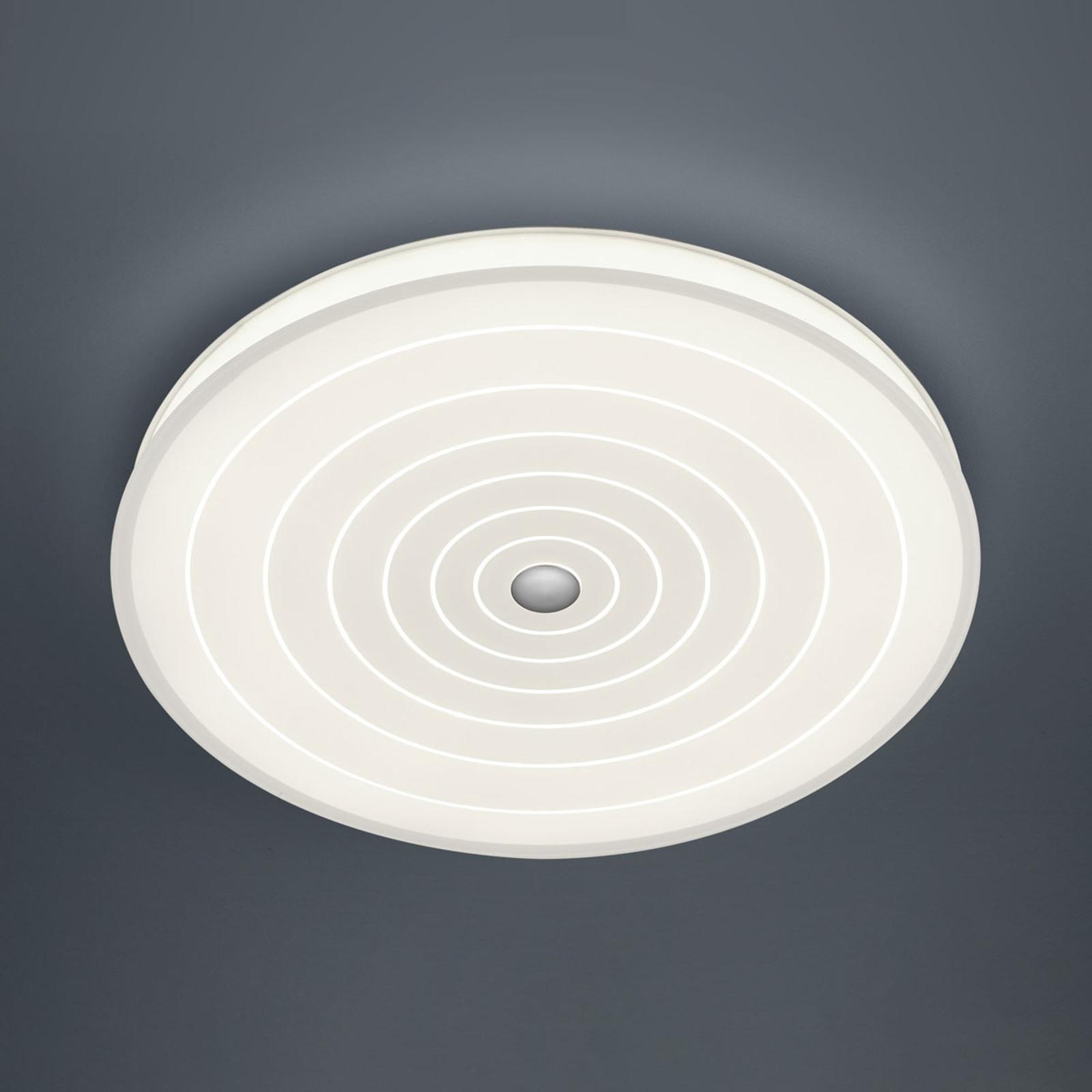 BANKAMP BANKAMP Mandala stropní LED svítidlo kruhy, 42 cm