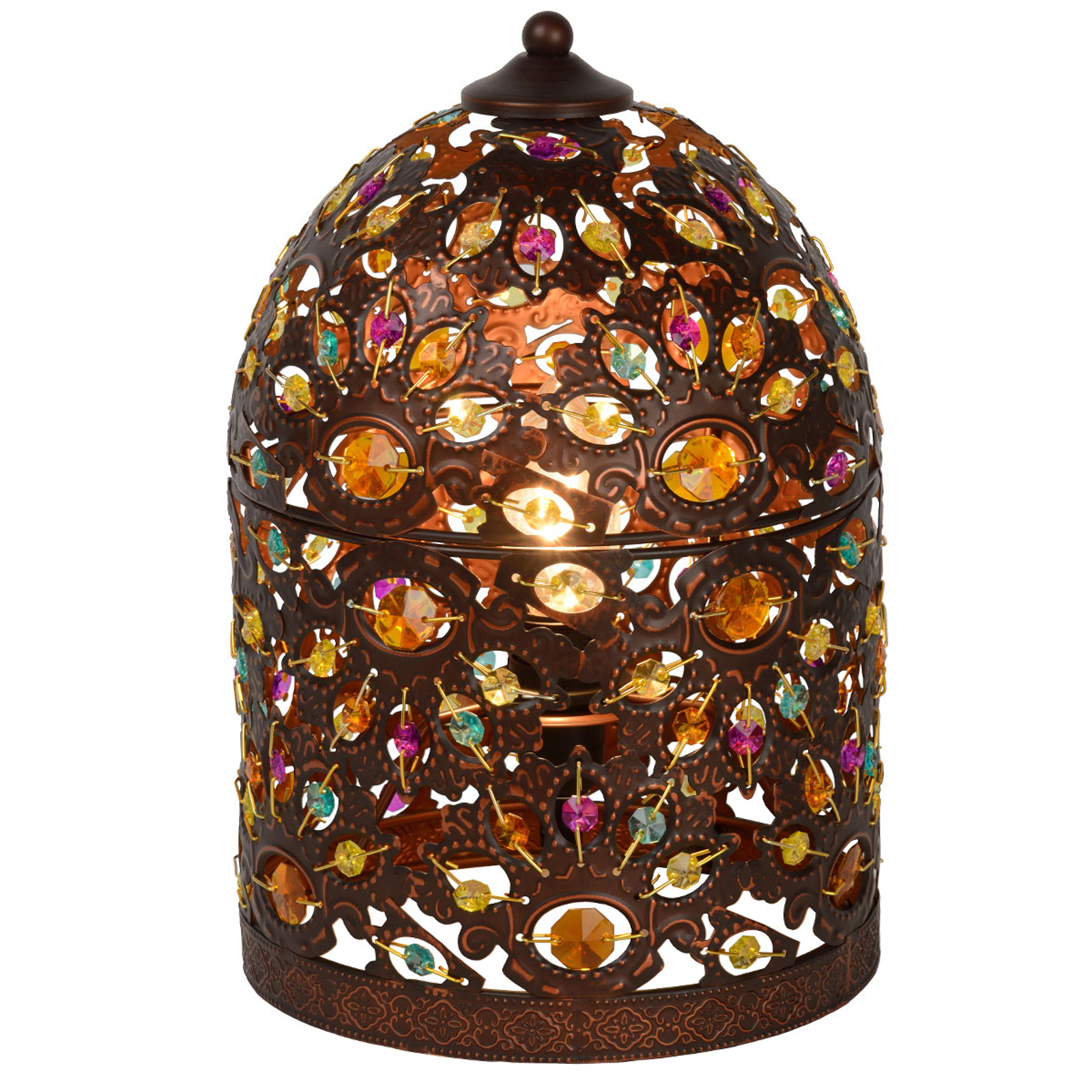 Ozdobna lampa stołowa Byrsa