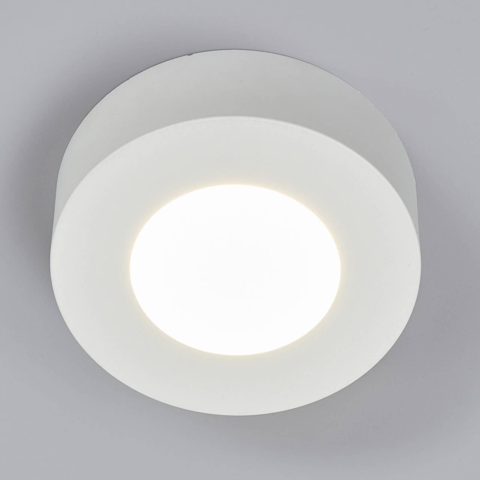 Plafoniera Marlo bianco 4000K rotonda 12,8cm