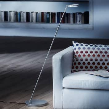 Lampa stojąca LED Plano S, z matowym wykończ. alu