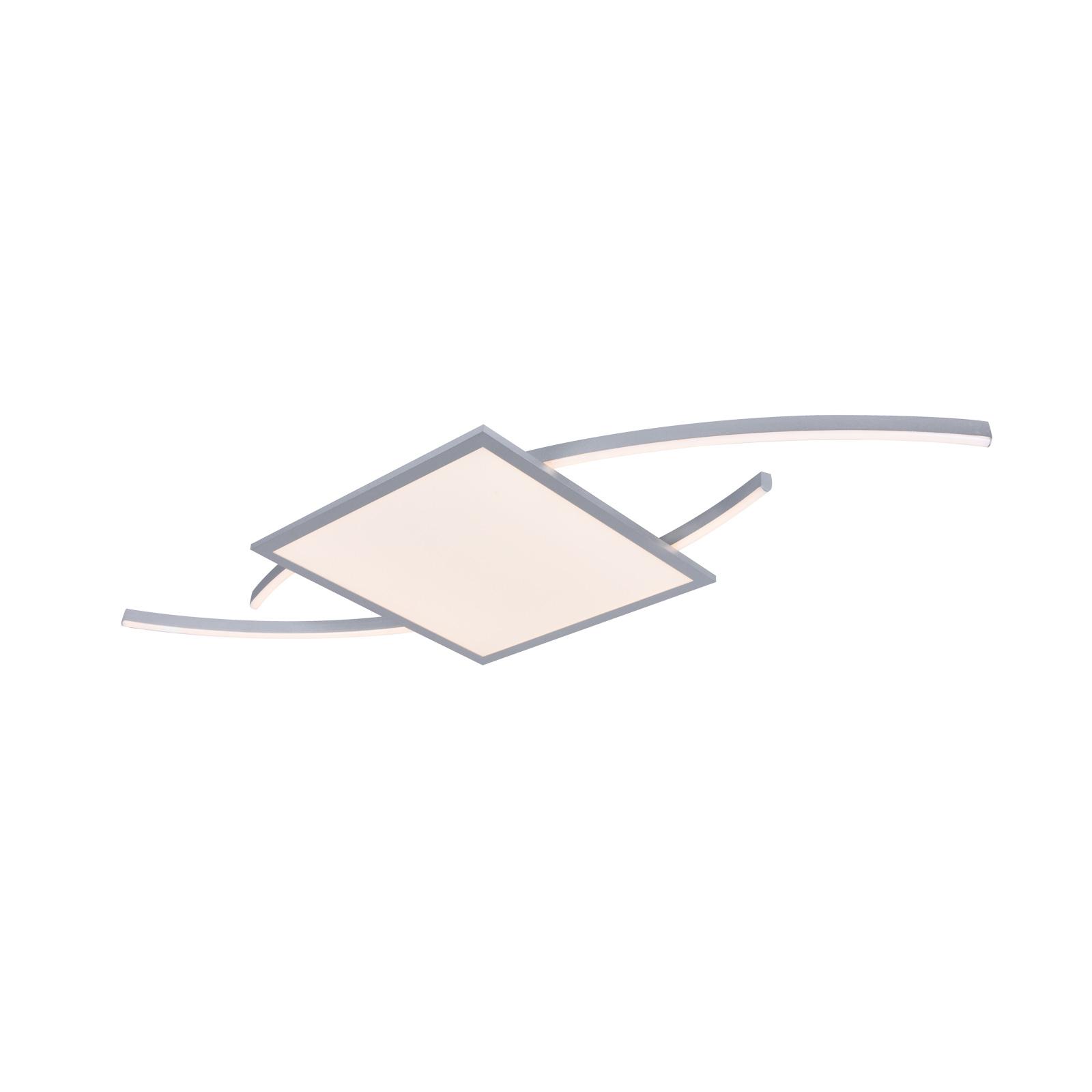 Lucande Tiaro LED plafondlamp, hoekig, 30 cm