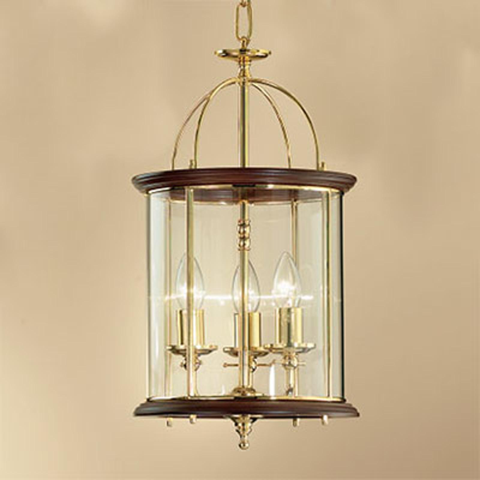 Lampa wisząca o estetycznym kształcie Grazie