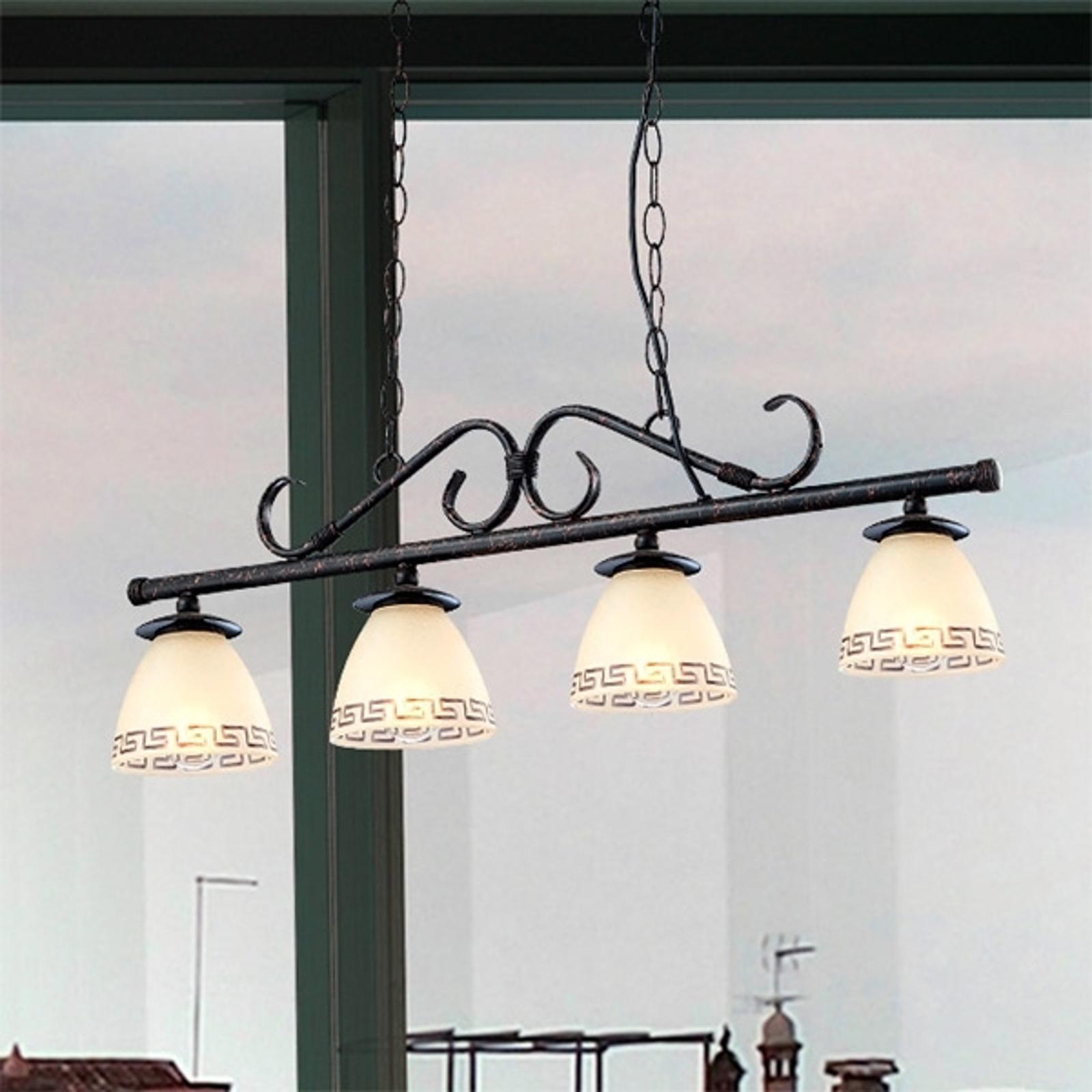 Antyczna lampa wisząca ROMA