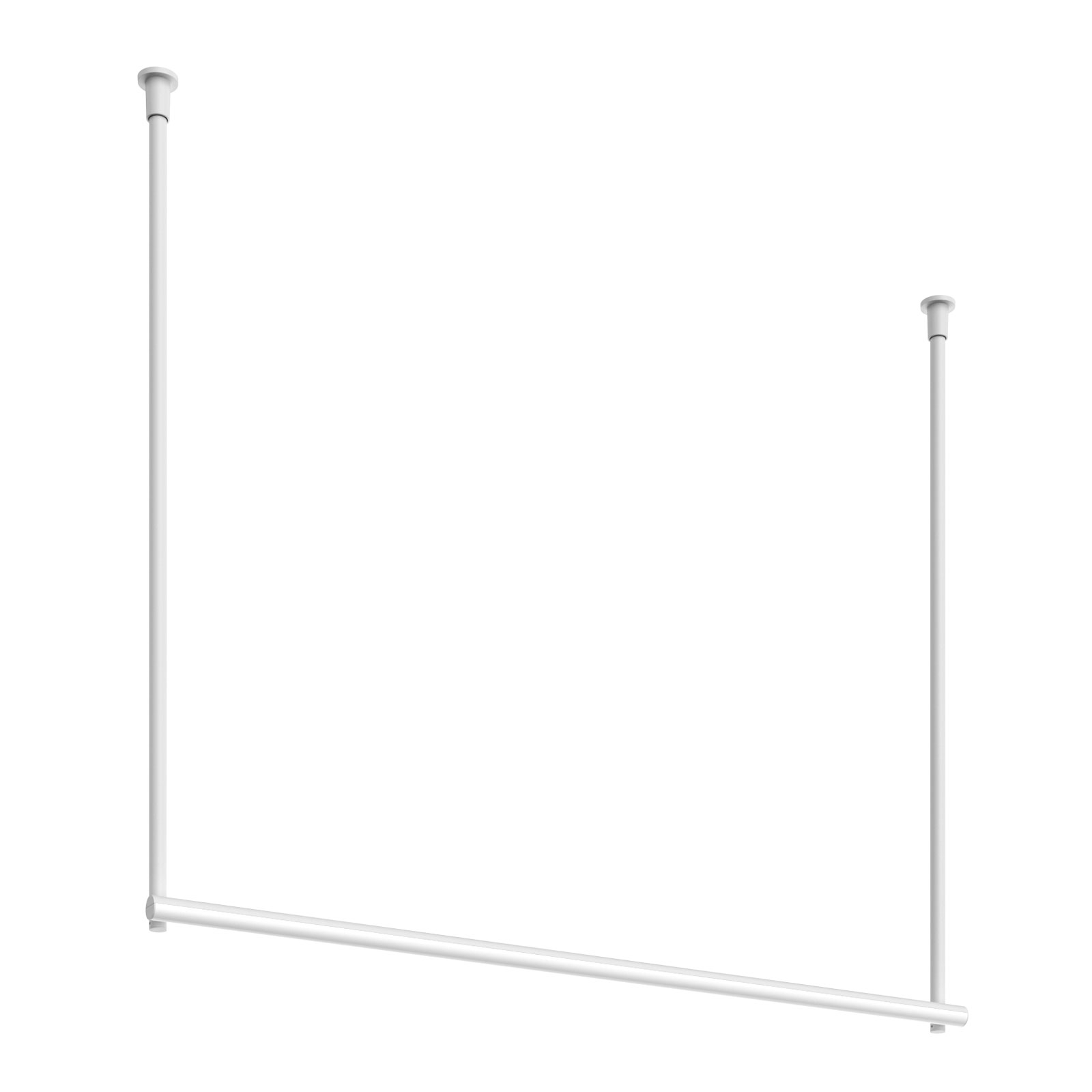 FLOS Infra-Structure C2 plafoniera LED bianco
