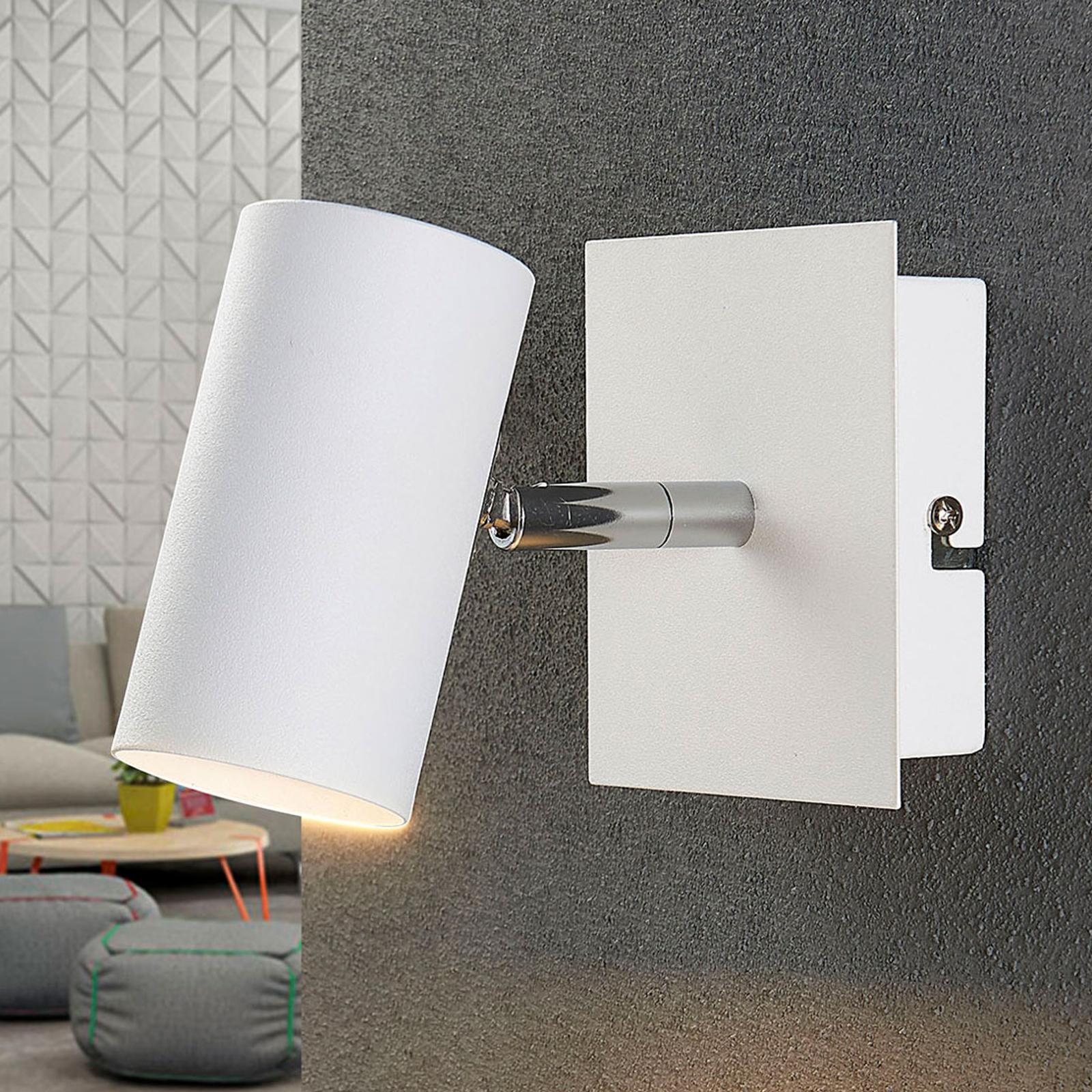 Vit LED-spot Iluk för vägg och tak