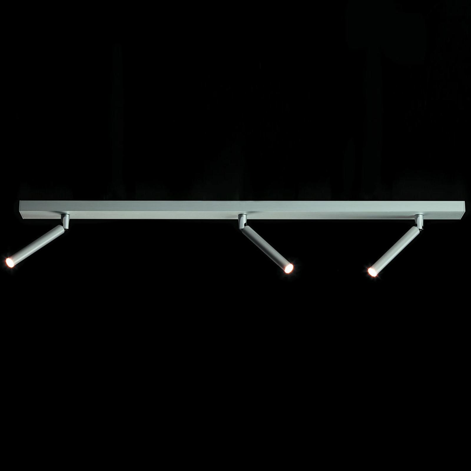 LDM Eccoled Spot Trio faretto LED, alluminio
