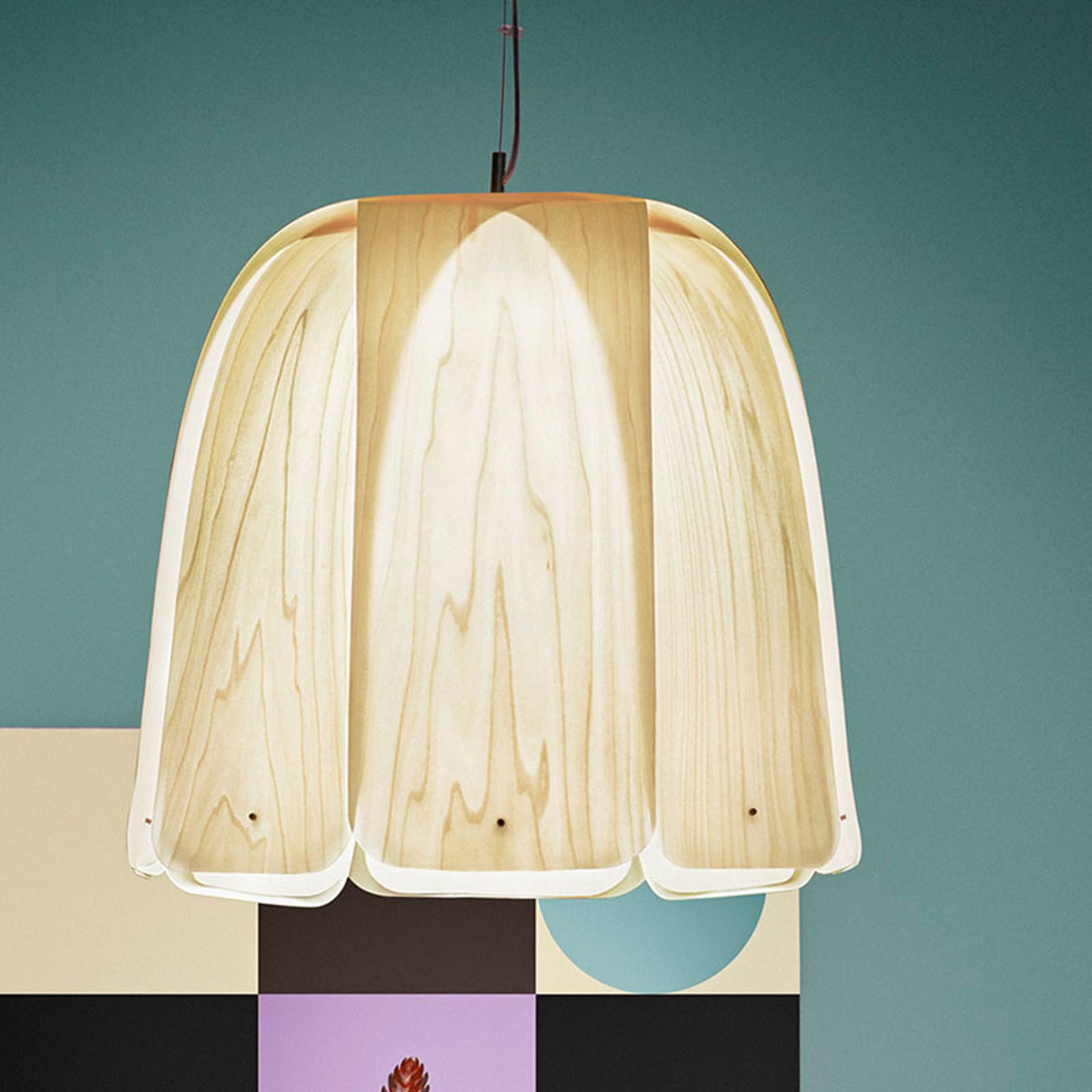 LZF Domo lampa wisząca kość słoniowa
