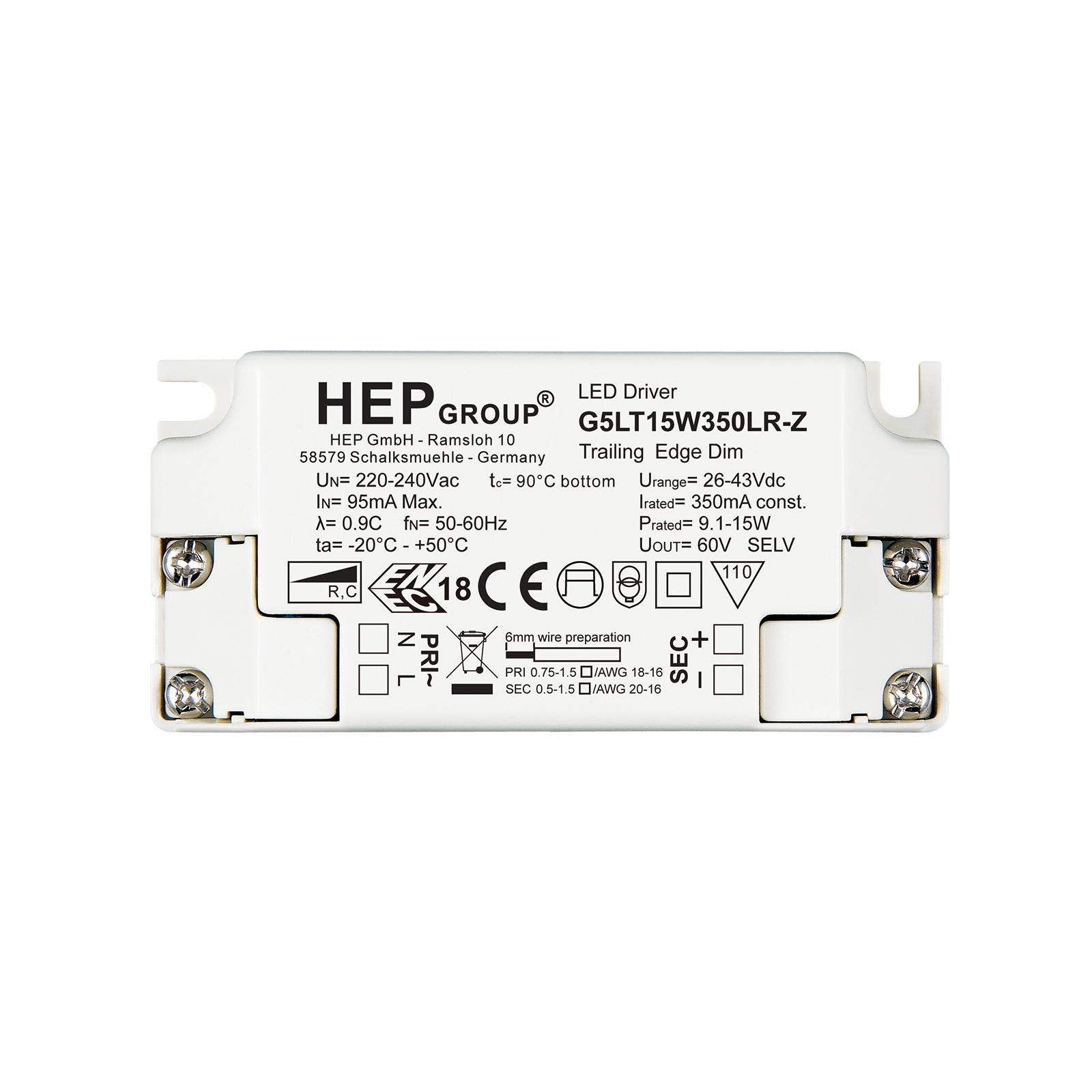 LED-Treiber G5LT, 15 W, 350 mA, dimmbar, CC