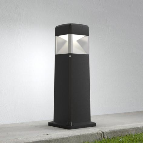 Lampioncino LED Elisa 500 nero trasparente 10W CCT