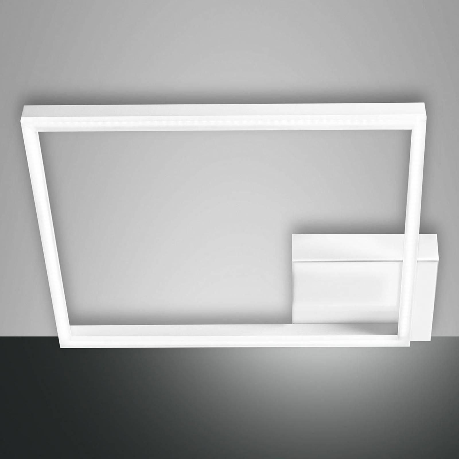 Kwadratowa lampa sufitowa LED Bard, 1-pkt.