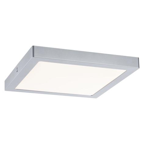Paulmann Abia LED plafondlamp 30x30 cm chroom