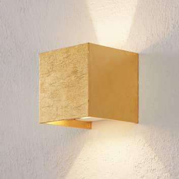 SIRI 44 LED-Außenwandleuchte up/down Blattgold