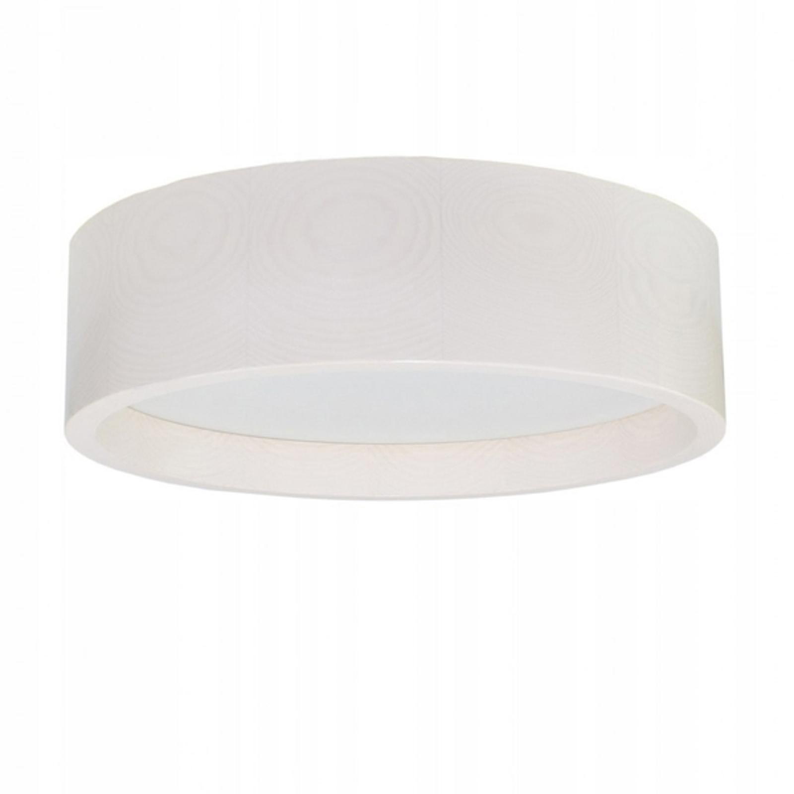 Plafonnier LED Deep, Ø 38cm, blanc