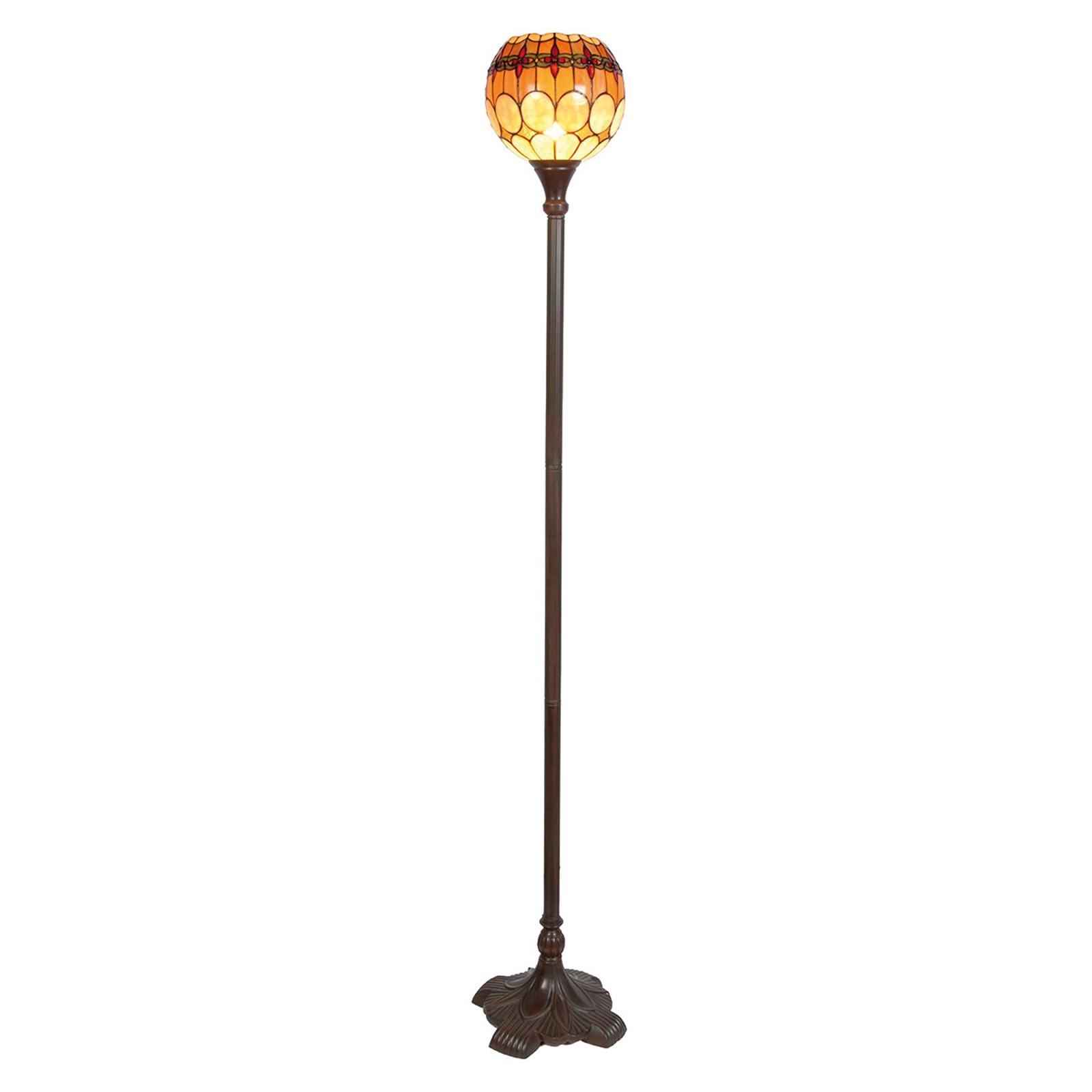 Niley - lampadaire de style Tiffany