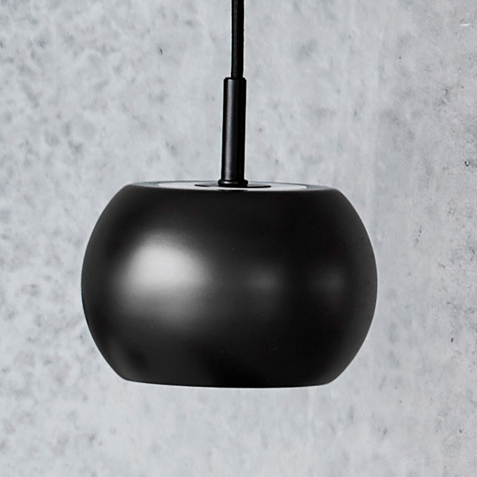 FRANDSEN BF20 hængelampe, Ø 15 cm, mat sort